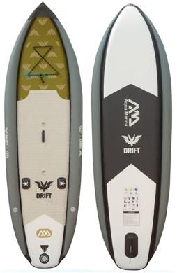 Aqua Marina Drift fishing inflatable paddle board review