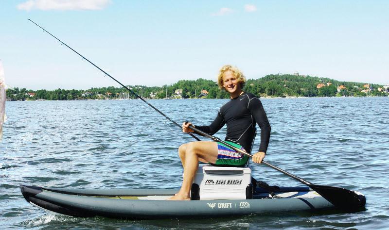 Aqua Marina Drift fishing inflatable stand up paddle board - 1