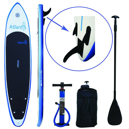 Atlantis inflatable stand up paddle board review