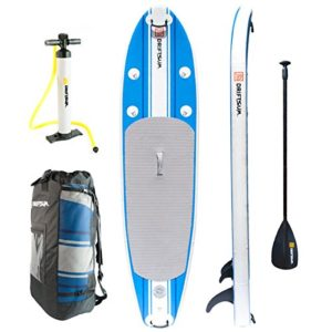 Driftsun 10' inflatable paddle board review