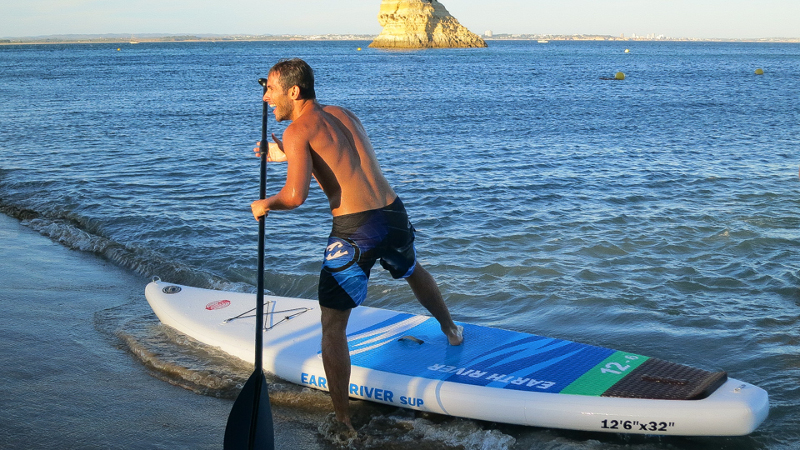 Earth River Inflatable stand up paddle board review