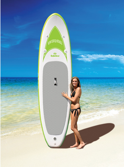 "Solstice 10'8"" Tonga Inflatable Stand Up Paddleboard review"