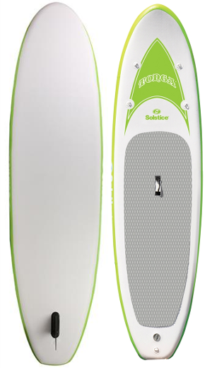 "Solstice 10'8"" tonga inflatable stand up paddle board review"