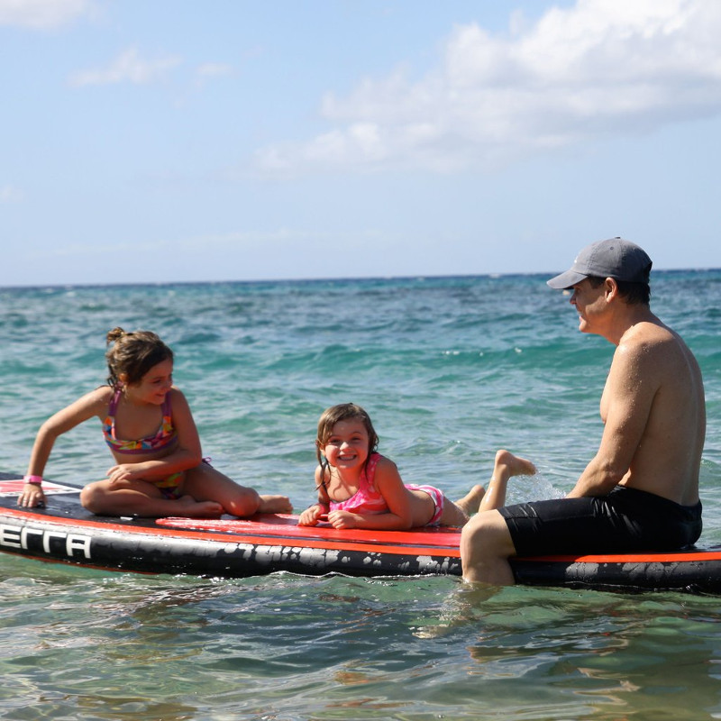 Xterra 10' inflatable stand up paddle board review