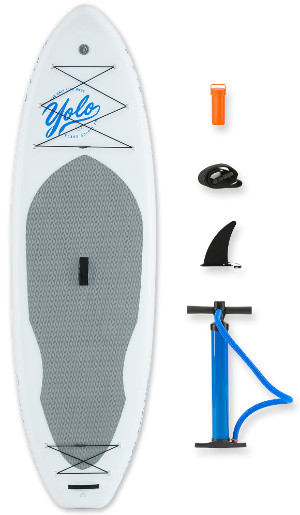 YOLO Board® 10' White Nose Inflatable Stand Up Paddle Board review