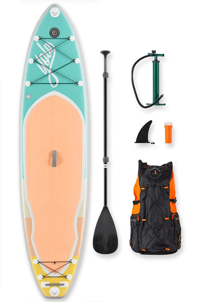 YOLO Board Mint 11 feet inflatable Stand up Paddle board review fabd1c5b5