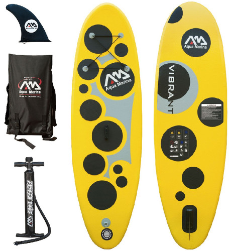 Aqua Marina Vibrant inflatable stand up paddle board review