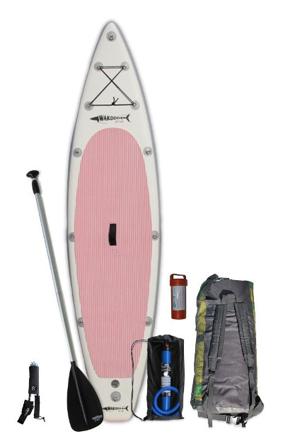 Wakooda GT126 inflatable stand up paddle board review