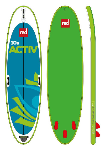 """2017 Red Paddle Co 10'8"""" Yoga inflatable stand up paddle board review"""