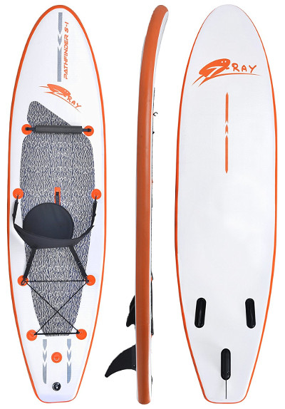 Blue Wave Sports Stingray Inflatable Paddle Board Review