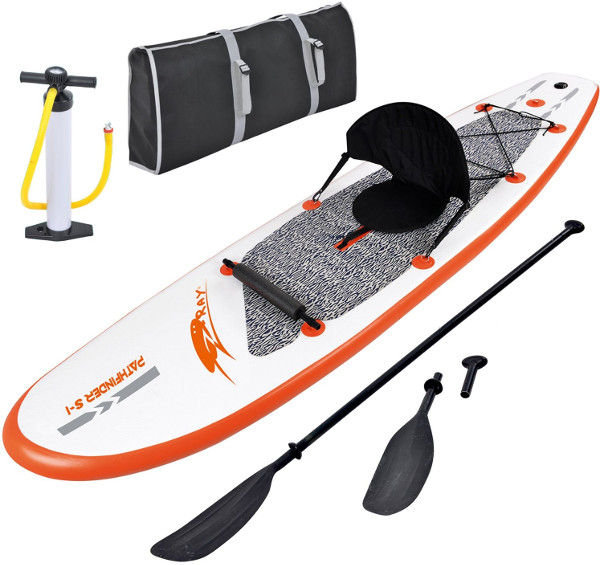 Blue Wave Sports Stingray inflatable stand up paddle board review