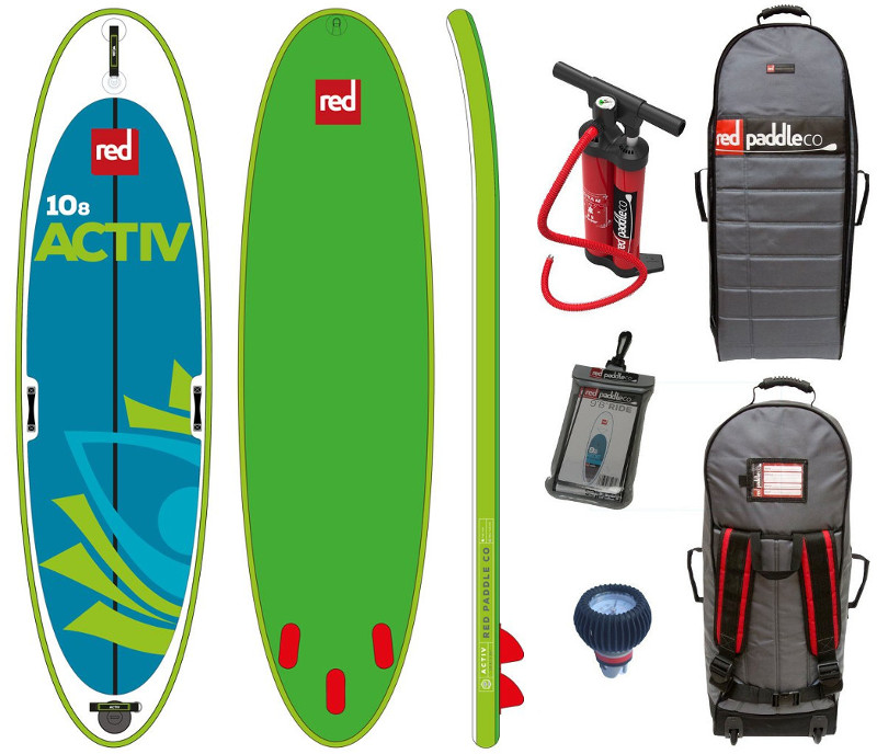 "Red Paddle Co Activ 10'8"" yoga inflatable paddle board Review"