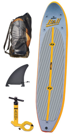 Best yoga inflatable paddle board