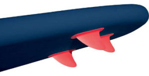 Bestway HydroForce Coast Liner Inflatable SUP - fins