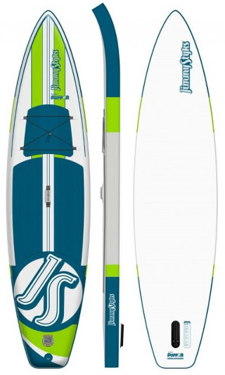 "Jimmy Styks Puffer 11'2"" Inflatable SUP Paddle board review"