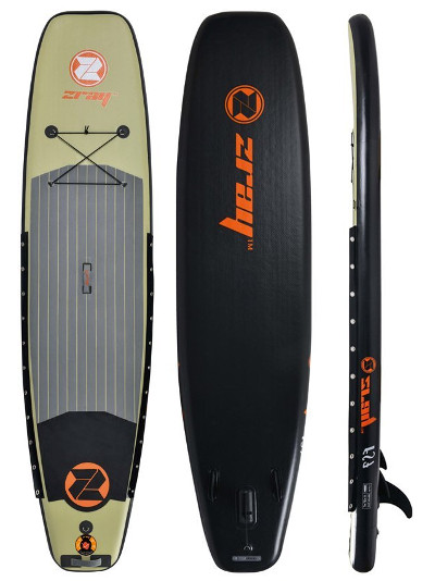 Zray FS7 Fishing 11' Inflatable stand up paddle board review
