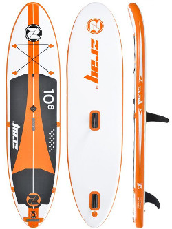 "Zray 10'6"" windsurf inflatable stand up paddle board review"