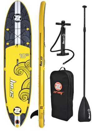 "Zray 10'10"" X2 inflatable stand up paddle board review"