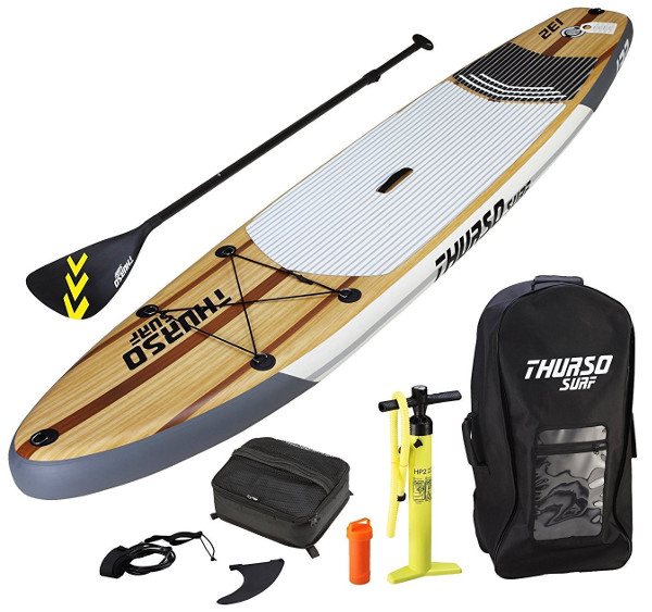 THURSO SURF Horizon Inflatable Stand Up Paddle board review