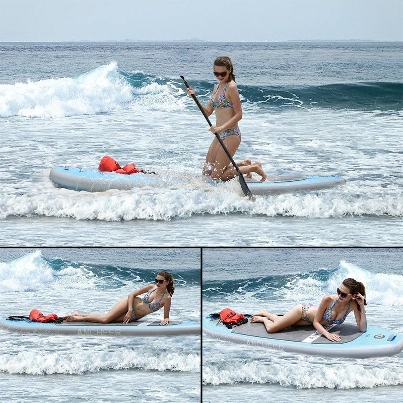 Ancheer AS10 10' Inflatable Paddle Board Review | WavesChamp