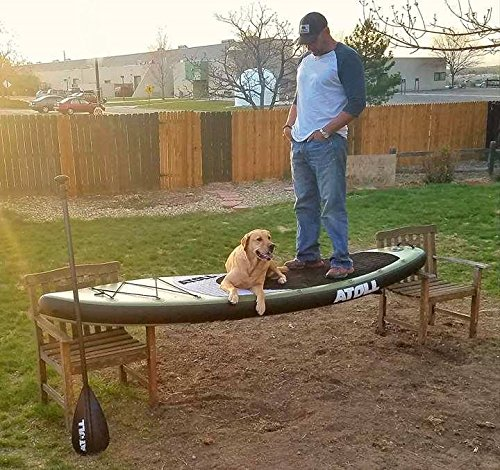 """Atoll 11'0"""" inflatable Stand up Paddle board review"""