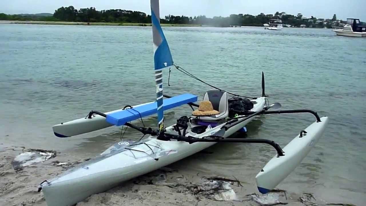 White Hobie Adventure Island Kayak