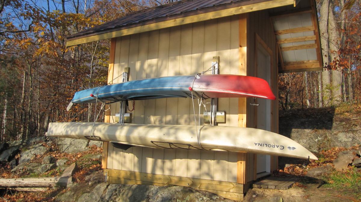 Big and small Kayak