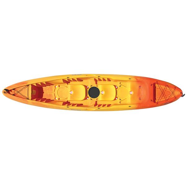 Yellow Orange Kayak