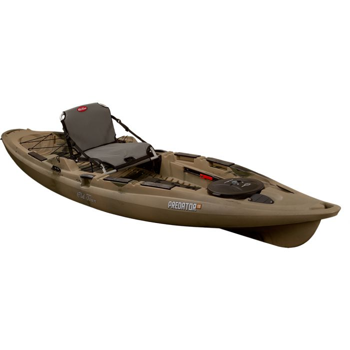 Brown kayak
