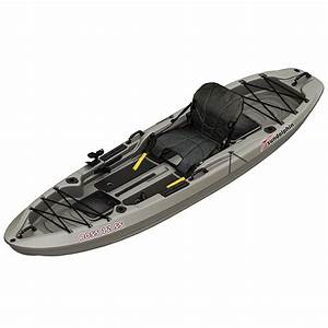 Grey kayak