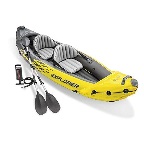 Intex Explorer K2 Inflatable Kayak Review 2019 | WavesChamp