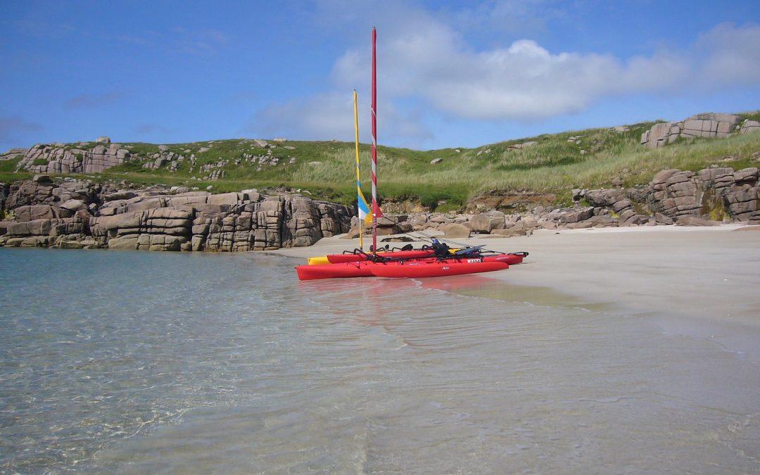 Hobie Mirage kayak in the Island